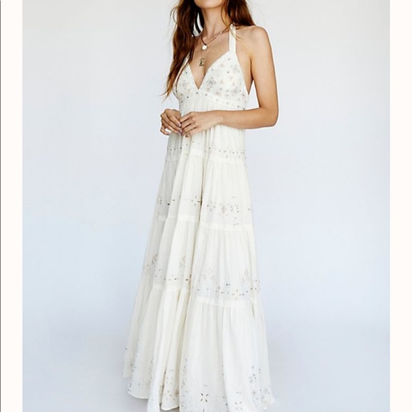 Free People Dresses & Skirts - Free People Glitter me timber's Party Dress